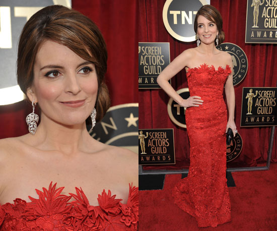 Tina Fey at SAG Awards 2011