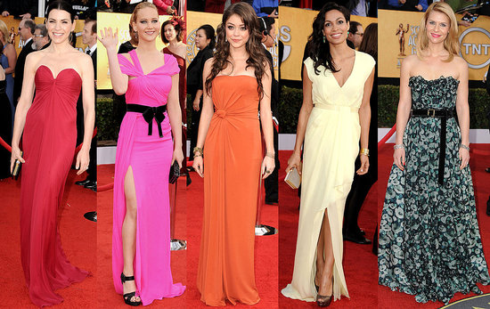 2011 Screen Actors Guild Awards Trend: The Color Wheel
