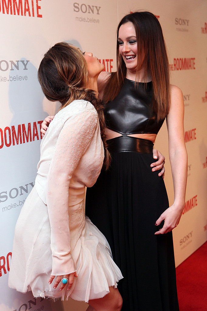 Leighton and Minka Talk Roommates and Valentines at Their Big West Coast Premiere