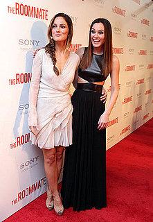 Pictures of Minka Kelly and Leighton Meester at the Premiere of The Roommate 2011-01-24 11:26:24