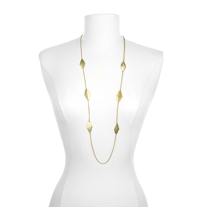 Marlyn Schiff Antique Gold Chain Necklace ($40)