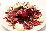 Shiitake Mushrooms and Radicchio