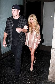 Pictures of Jessica Simpson With Eric Johnson at Dinner in LA