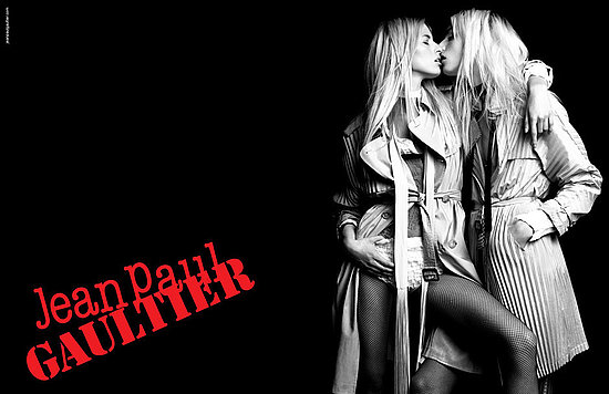 Karolina and Andrej for Jean Paul Gaultier's Spring '11 campaign.