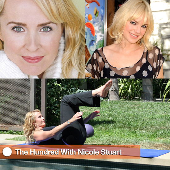 Pictures of Kate Hudson's Trainer Doing Pilates