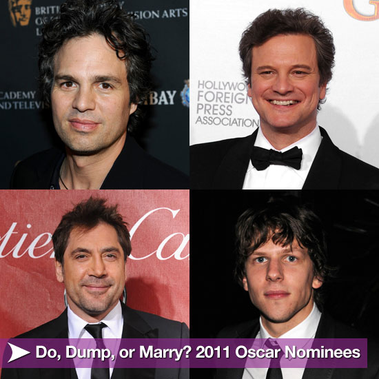 Do, Dump, or Marry? 2011 Oscar Nominees