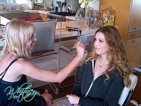 Whitney Port Getting Ready For Chelsea Lately