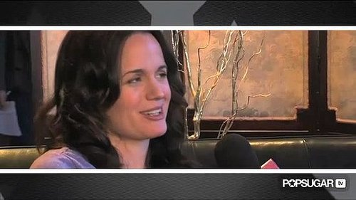 Video Interview With Elizabeth Reaser About Breaking Dawn, Homework, Sundance Film Festival 2011-01-26 10:45:00