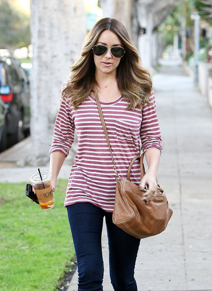 Lauren Conrad Has Cute California Style and a Big Hair Fan in Tabatha Coffey