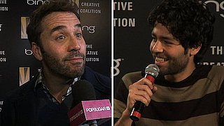 Video: Adrian Grenier and Jeremy Piven Talk Entourage, Teachers, and Miley Cyrus!
