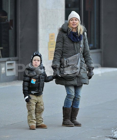 Naomi Watts Warms Up to a New Role With Sasha by Her Side