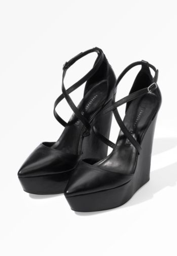 Ankle Strap Wedge ($465)