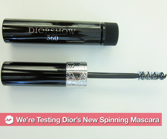 Testing Out the Hot New DiorShow Spinning Mascara