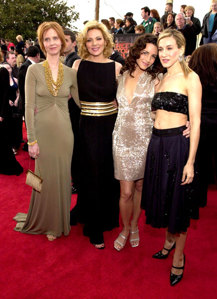 The Cast of Sex and the City at the 2001 SAG Awards