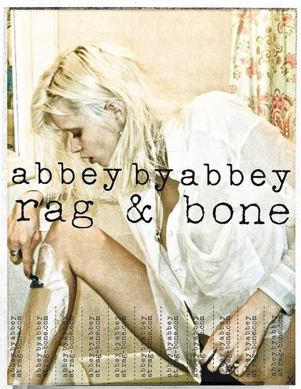 Check Out Rag & Bone's DIY Ad Campaign Featuring Abbey Lee Kershaw, Edita Vilkeviciute, Sasha Pivovarova, and Lily Aldridge