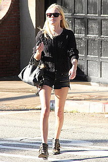 Pictures of Kate Bosworth Visiting a Friend in Short Shorts After Going to Sundance