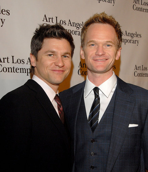 Neil Patrick Harris Suits Up and Takes in Art With David