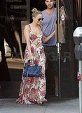 Nicole Richie Loves Winter but Breaks Out the Florals For Lunch
