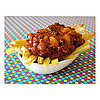 Four Bean Chili Baked Fries 