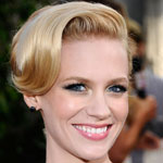 How to Get January Jones' Gorgeously Retro Hairstyle From the 2011 SAG Awards!