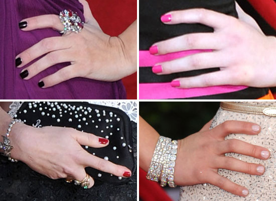 2011 SAG Awards: Celebrity Manicures On The Red Carpet