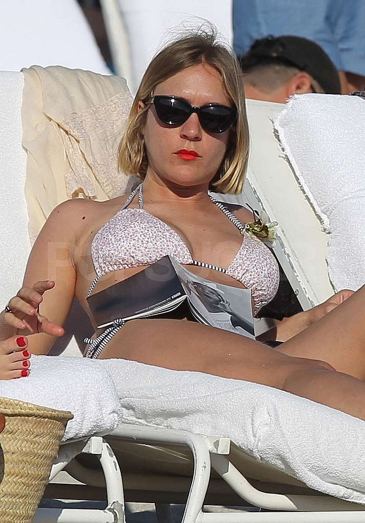 Chloë Sevigny Keeps Her Bikini Fun Coming in Miami!