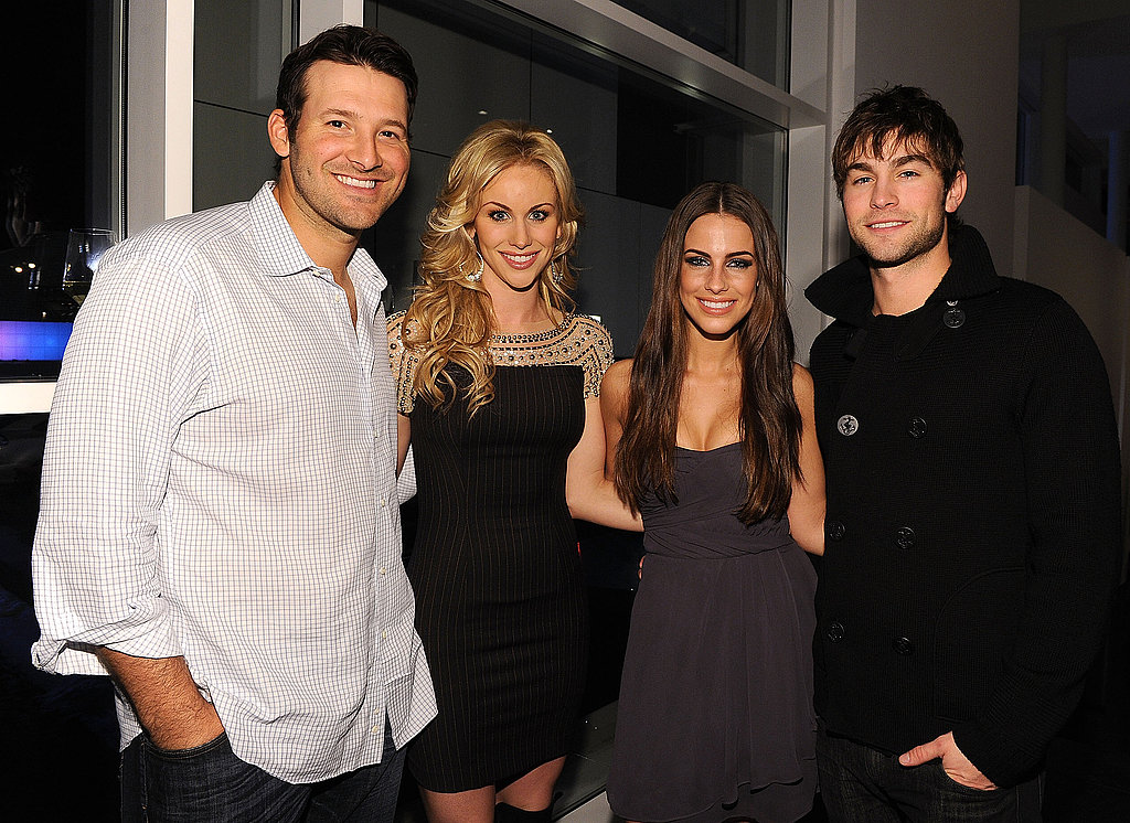 Tony Romo, Candice Crawford, Chace Crawford, Jessica Lowndes