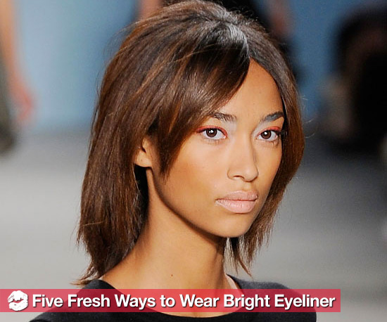 Tips For Wearing Spring's Bright Eyeliner Trends