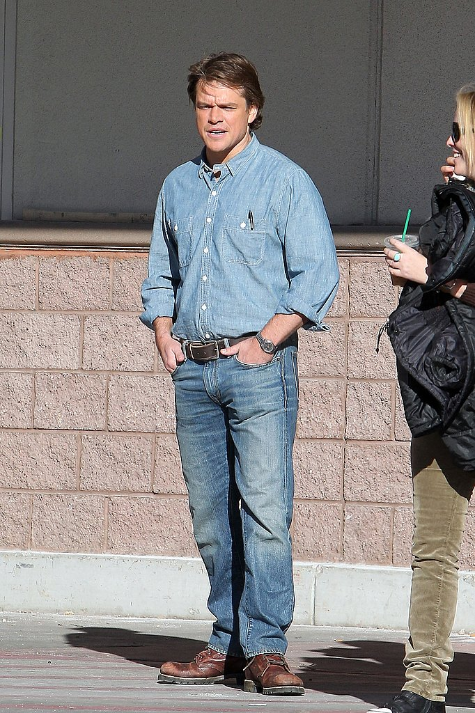 Matt Damon Heads Back to Work Following a Fun Family Weekend