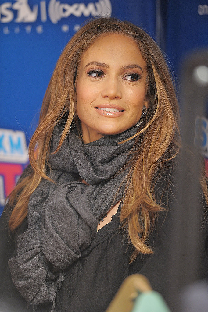 Jennifer Lopez Makes a Sirius Stop to Chat Up American Idol