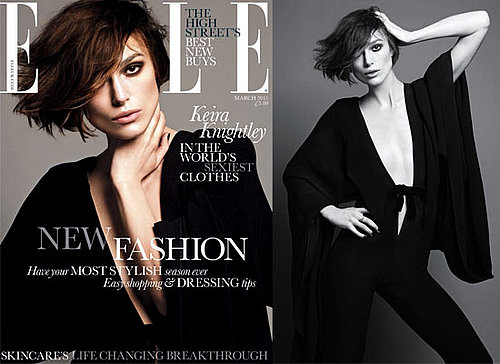 Pictures of Keira Knightley in March 2011 Elle Magazine