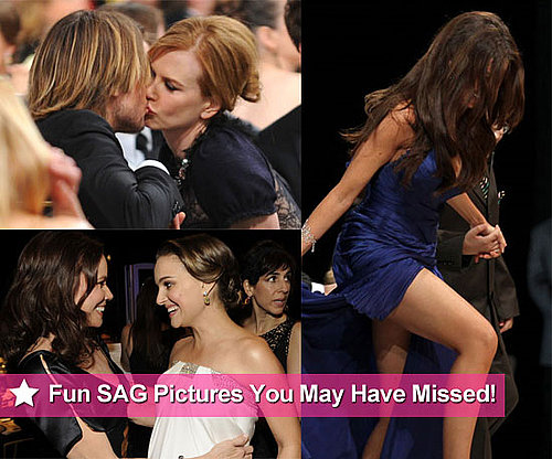 Behind the Scenes Photos at 2011 SAG Awards Including Natalie Portman, Mila Kunis, Andrew Garfield