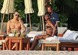 Naomi Campbell Lounges in Her Bikini