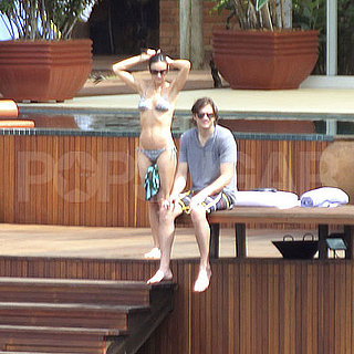Pictures of Demi Moore in a Bikini With Ashton Kutcher and Tallulah in Brazil