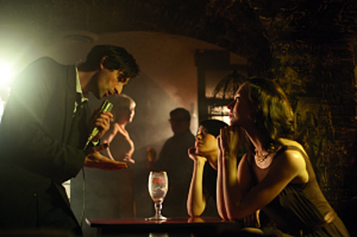 Adrien Brody Crooning Away For Stella