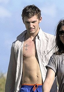 Shirtless Alex Pettyfer Pictures in Miami