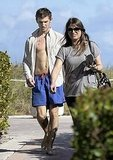 Alex Pettyfer Goes Shirtless Amid Dianna Engagement Rumors