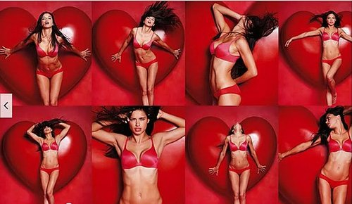 Hot! Victoria's Secret Models In Sexy Lingerie For Love Me Valentine's Day Campaign