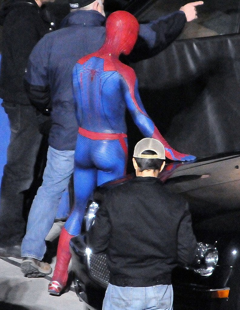 Pictures of Andrew Garfield as Spider-Man