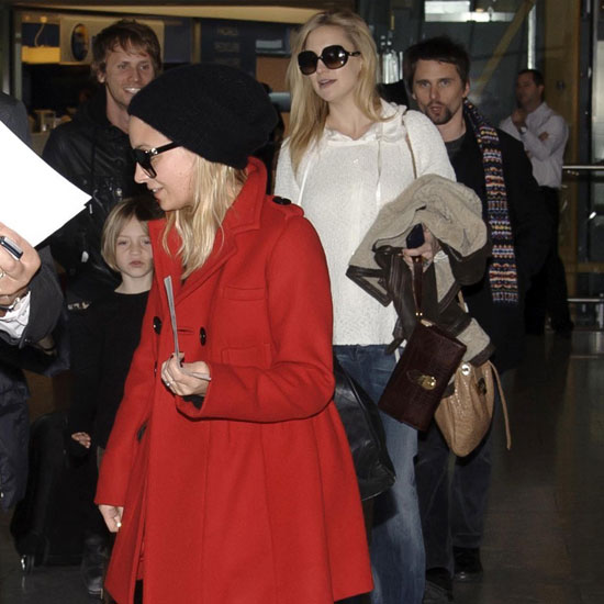 Pictures of Pregnant Kate Hudson and Ryder Robinson Leaving London
