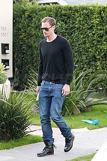 Pictures of Alexander Skarsgard Solo Heading to Lunch in LA