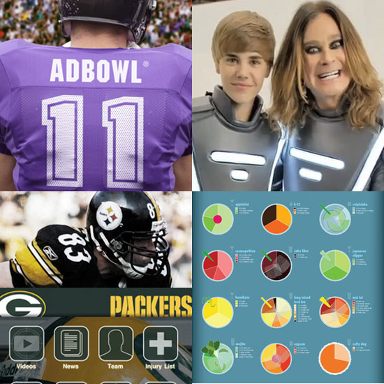 Super Bowl XLV Apps and Websites