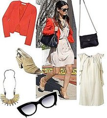 Rachel Bilson Street Style: Shop Her Orange and Cream Ensemble Online!