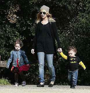 Pictures of Nicole Richie, Harlow, and Sparrow Madden in LA