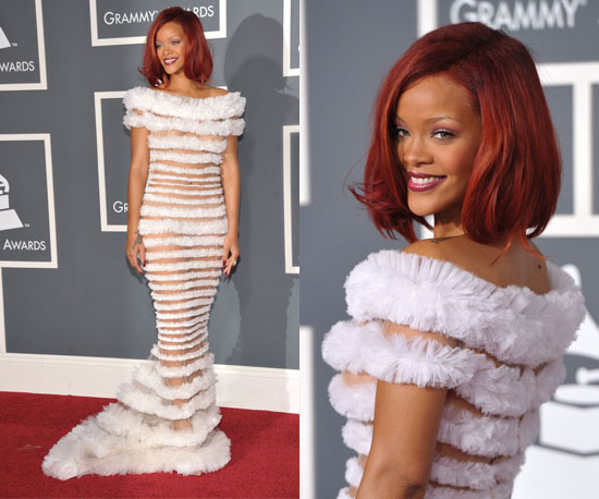 Rihanna Grammys 2011