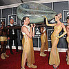 Pictures of Lady Gaga in Egg Womb at 2011 Grammy Awards 2011-02-13 15:49:17