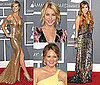 Pictures of Miley Cyrus, Heidi Klum, Jewel, and Julianne Hough at the 2011 Grammy Awards