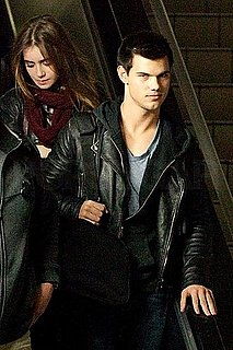 Pictures of Taylor Lautner and Lily Collins in LA
