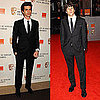 Pictures of The Social Network&#039;s Jesse Eisenberg and Andrew Garfield on BAFTA Awards Red Carpet 2011