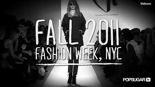 Charlotte Ronson Fall 2011 New York Fashion Week Runway